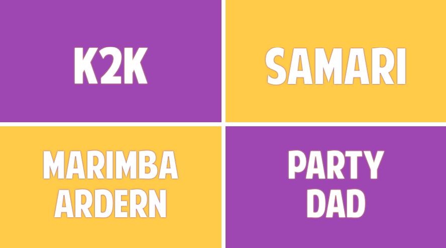 Fringe Blowout w/ k2k, Samari, Marimba Ardern and Party Dad