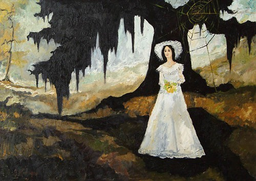 The Cajun Bride of Oak Alley by George Rodrigue