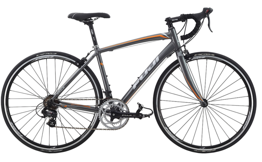 Fuji Finest - A smooth fitting, endurance-ready bike designed for women. This model is comfortable, lightweight, and fast-fast.