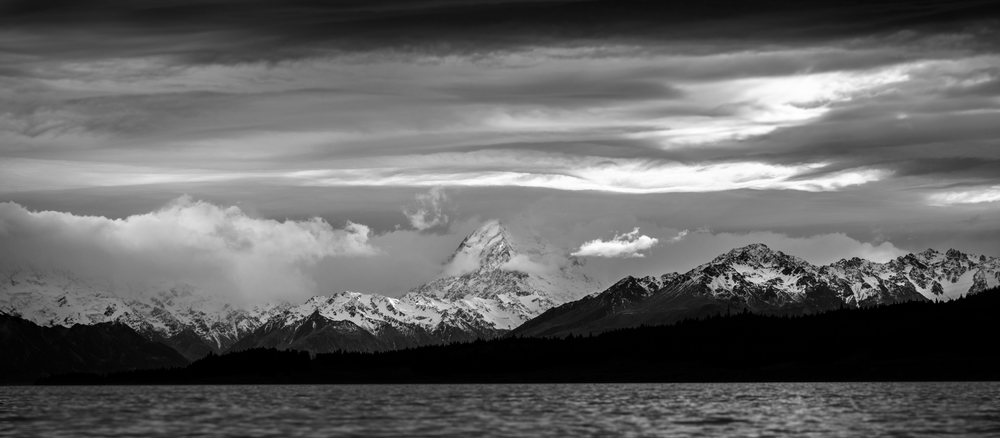 Mt Cook over Lake Pukaki