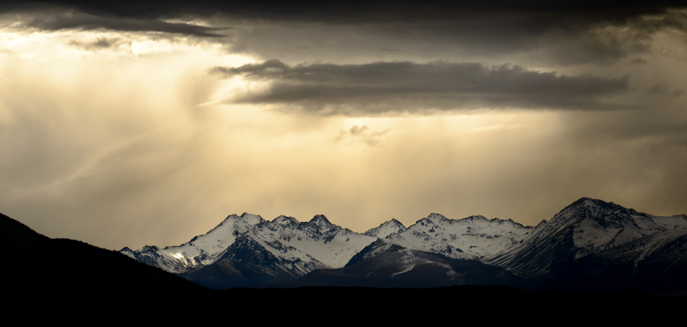 """Black Hills Storm""  Mackenzie Basin, South Island, New Zealand  D800, ISO100, f5.6, 1/1250sec, 250mm"