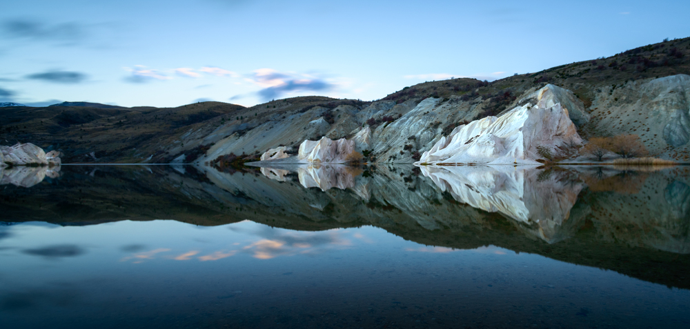 """Shades of Blue""  Blue Lake, St Bathans, Central Otago, New Zealand  D800, ISO100, f6.3, 30sec, 17mm, Lee Little Stopper ND Filter"