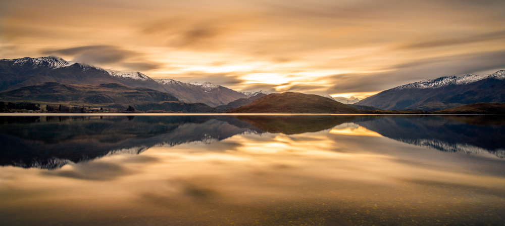 """Nullabor Tones""  Glendhu Bay, Wanaka, South Island, New Zealand  D800, ISO100, 250sec, f8, 17mm, Lee Big Stopper ND Filter"