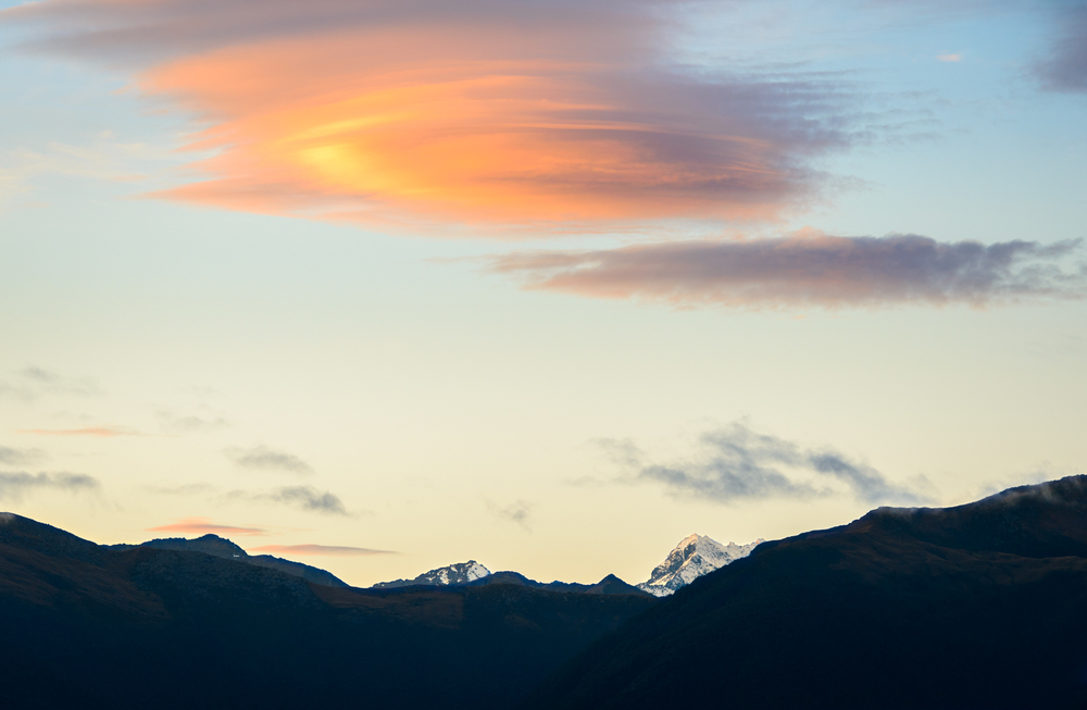 """Lenticular Rise""  Jackson Bay, West Coast, South Island, New Zealand  D800, ISO100, f8, 1/25sec, 160mm"
