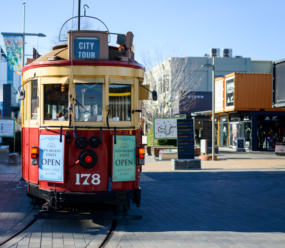 Trams back on the Christchurch streets