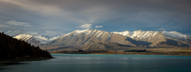 """Camp view"", Lake Tekapo"
