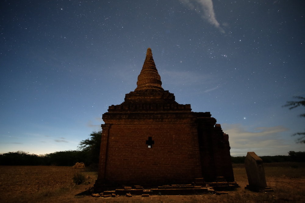 Stars and Pagoda
