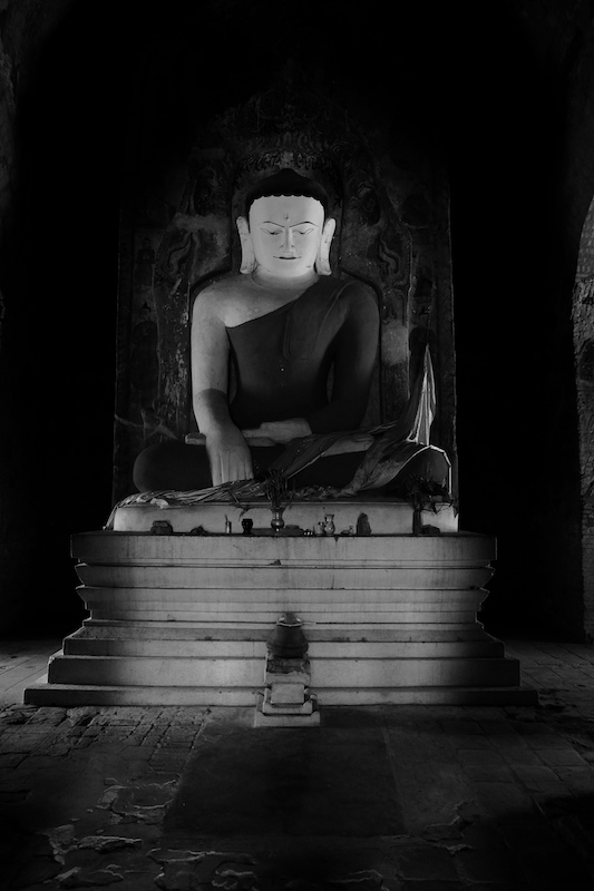 Buddha at our unnamed temple we climbed