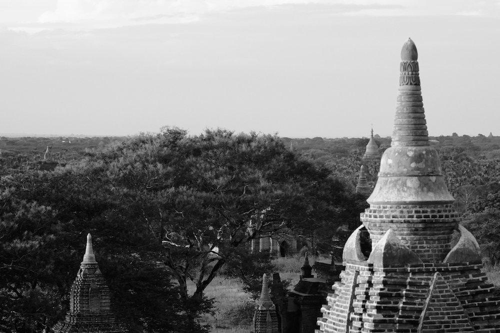 Pagoda from Shwesandaw