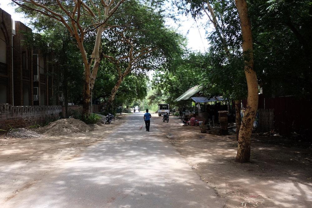 Streets of New Bagan