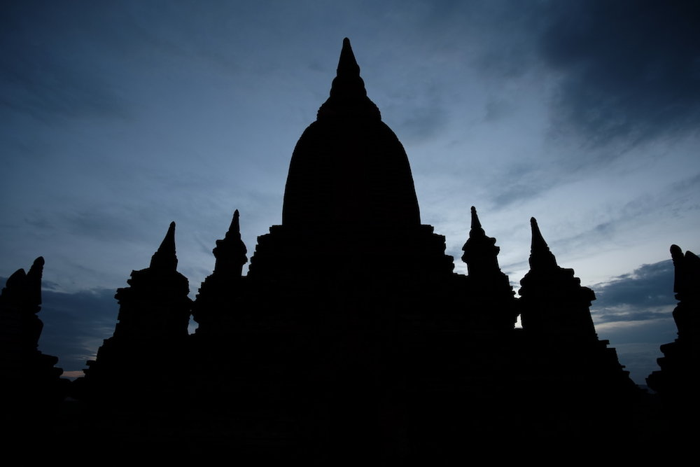 Silhouette, Unnamed Pagoda