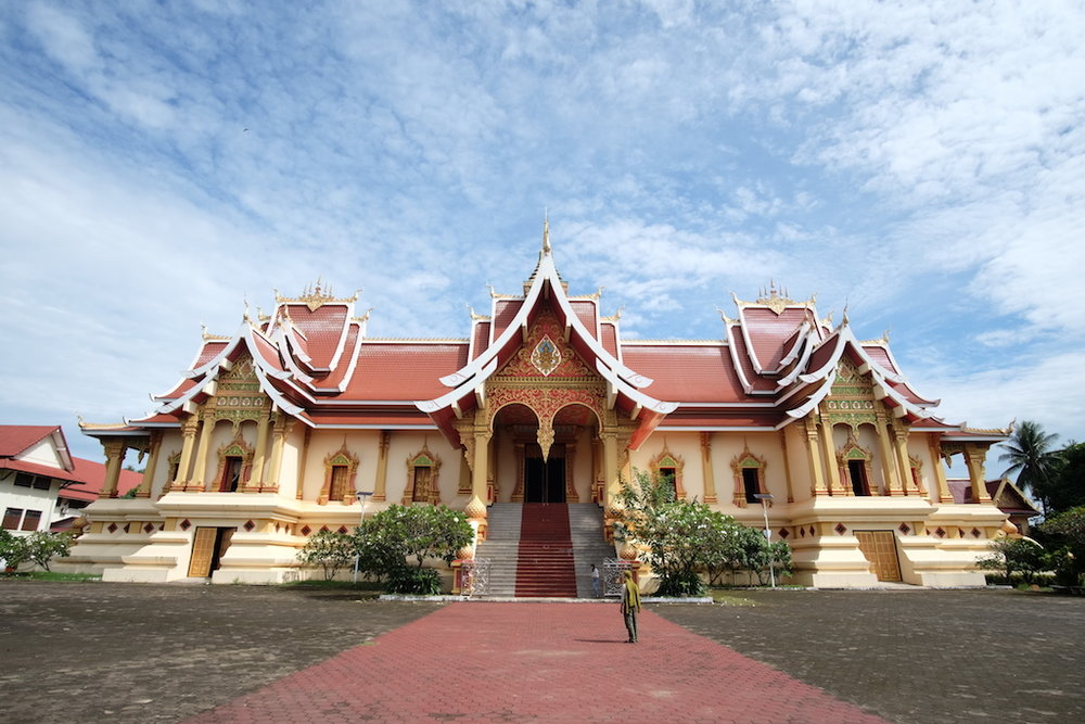 Another temple, Pha That Luang