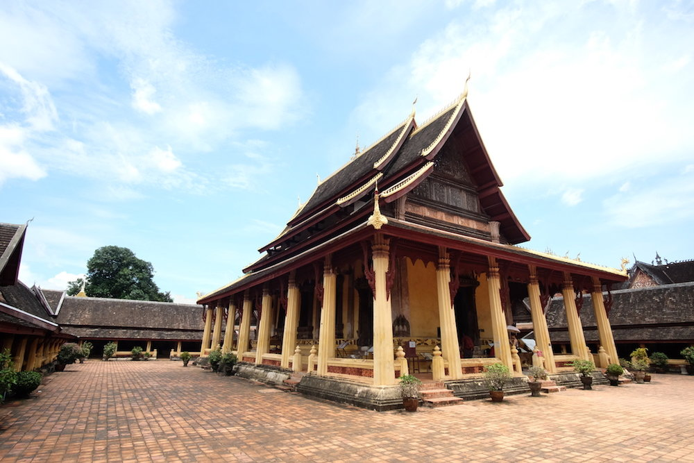 Wat Si Saket main temple