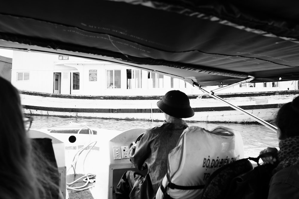 On the speedboat