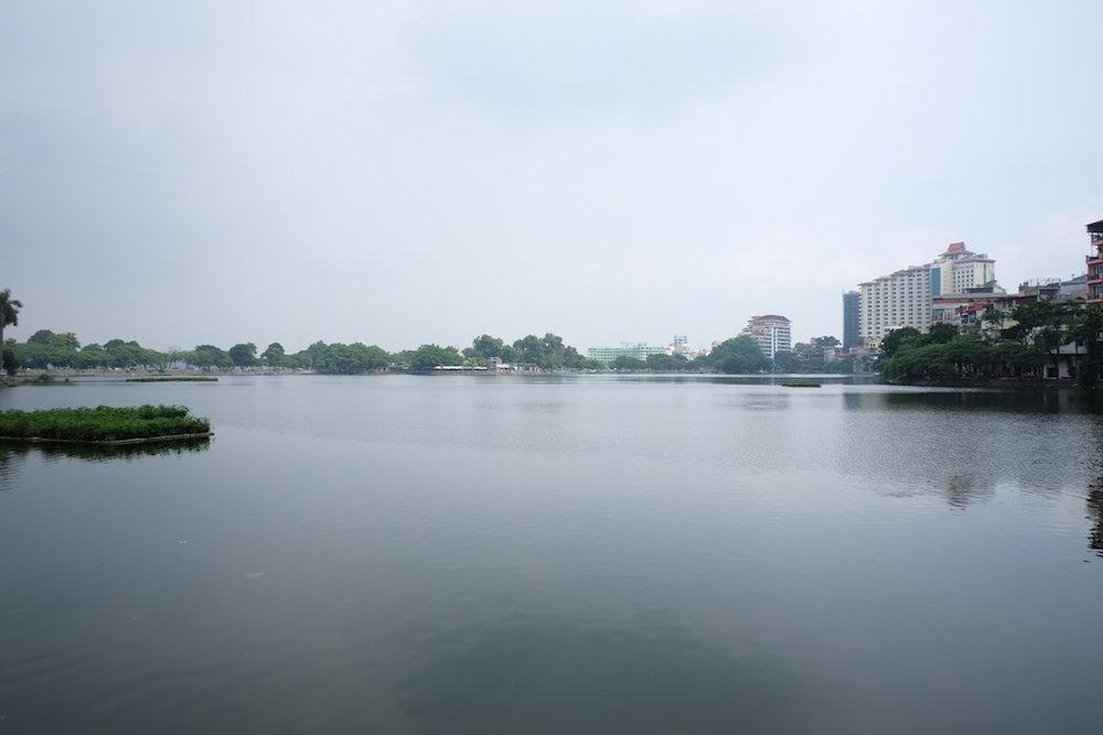 Ho Truc Bach lake