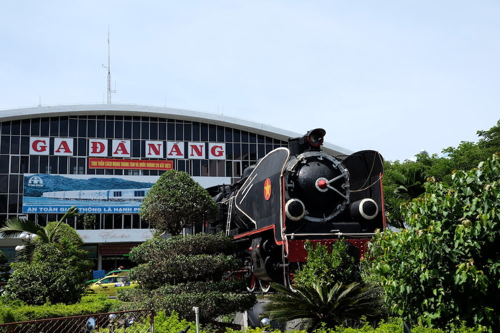 Ga Da Nang, not our train