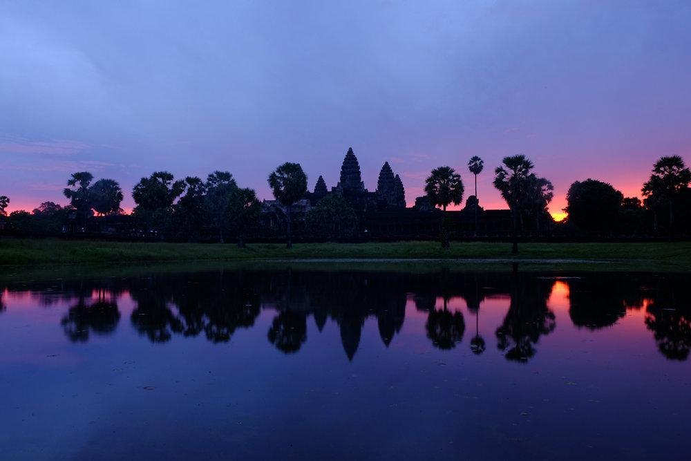 Day 1: Angkor Wat - South Reflecting Pool
