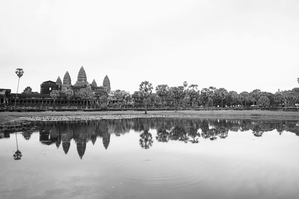Day 1: Angkor Wat - North Reflecting Pool