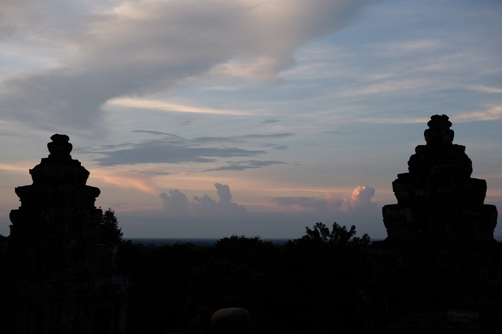 Day 1: Phnom Bakheng Temple sunset
