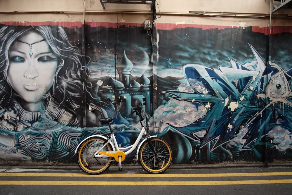 Street mural, Little, Little India