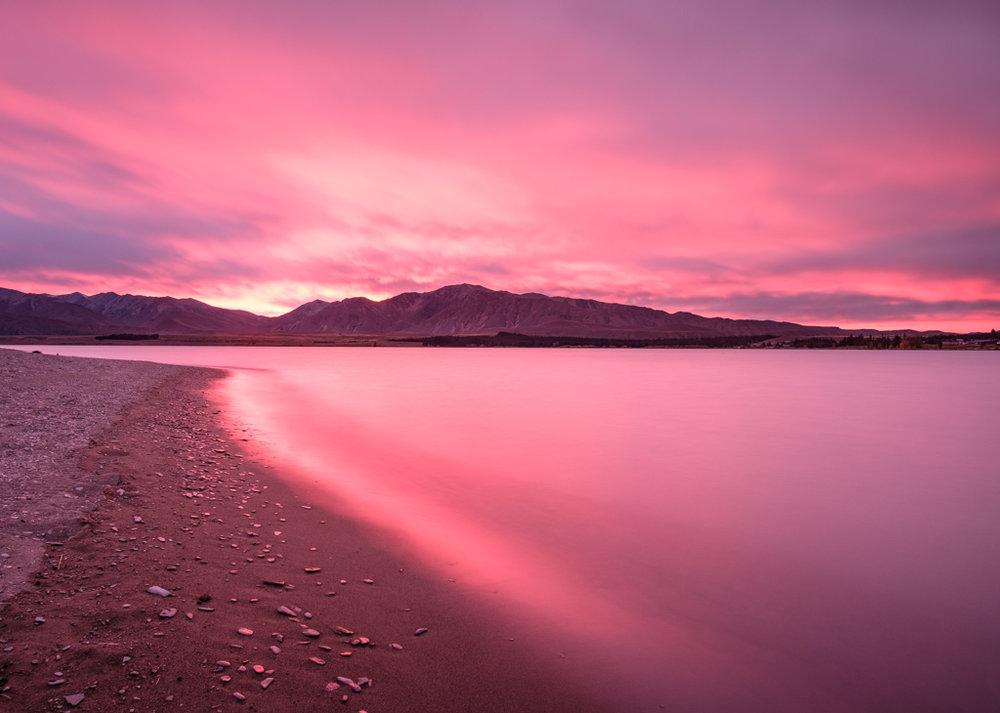 Firestorm, Lake Tekapo
