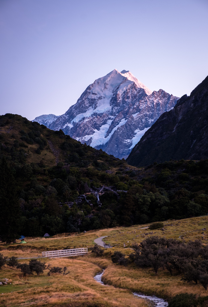 Mt Cook at first light