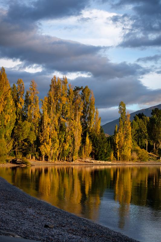 Early Autumn Colour, Glendhu Bay