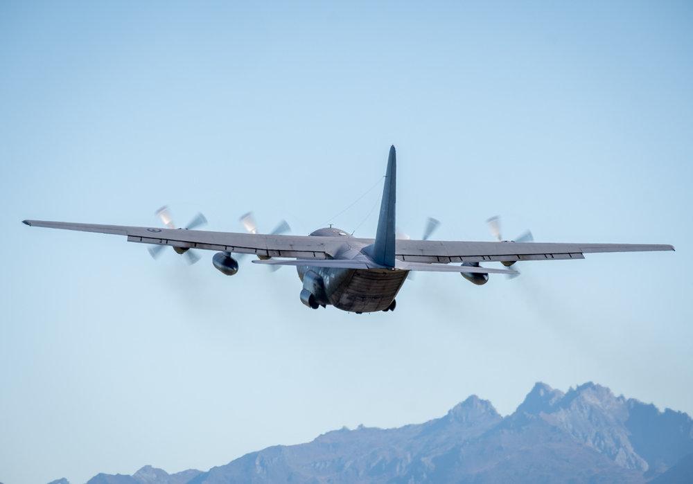 NZRAF C-130H Hercules