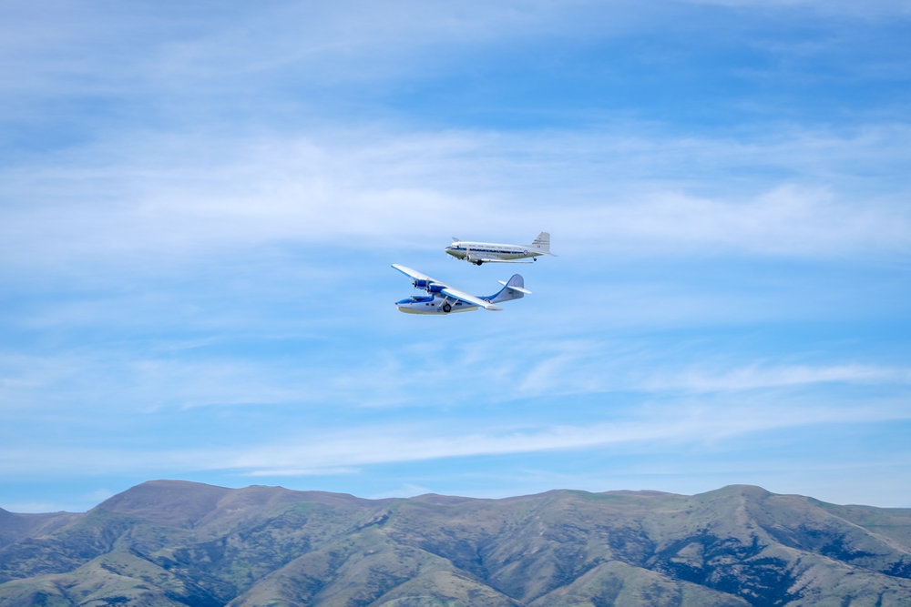 DC-3 and Catalina Flying Boat