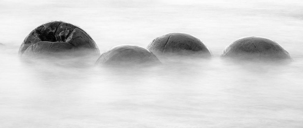 Drowning Boulders, Moeraki