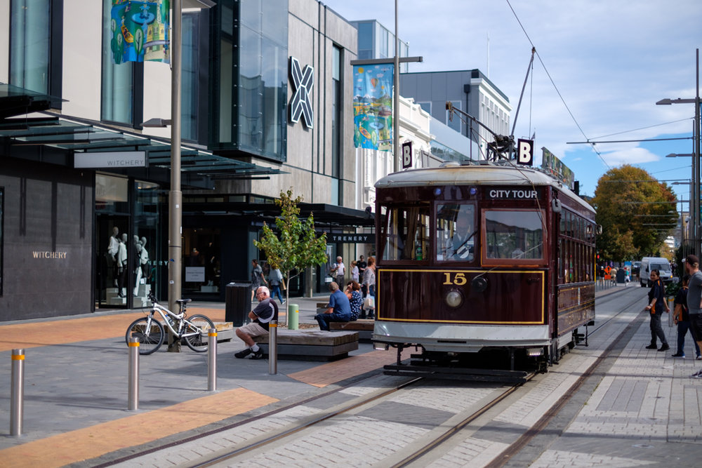 City of Trams, Christchurch