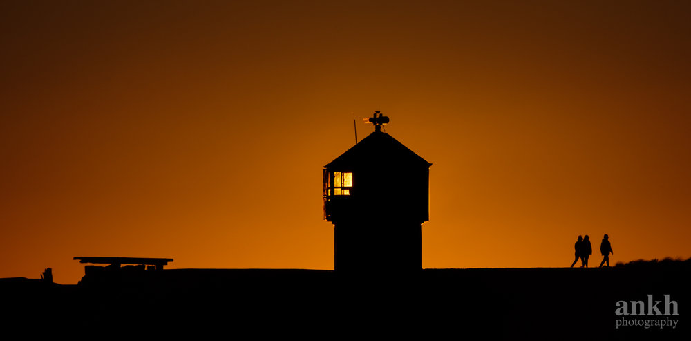 Lighthouse of the rising sun