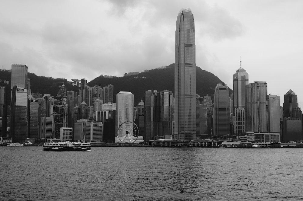 That classic Hong Kong skyline