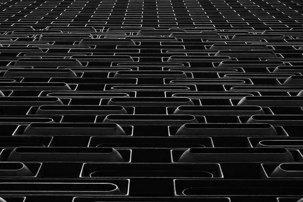 JC Cube building facade, Tai Kwun Centre