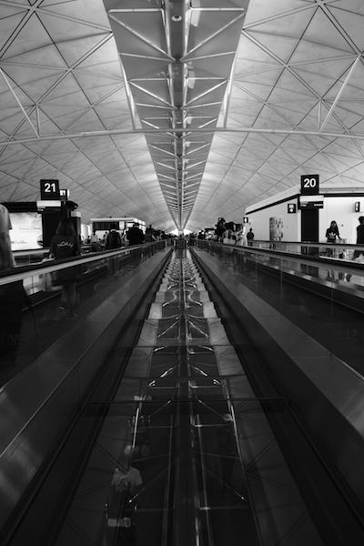 Hong Kong Airport terminal