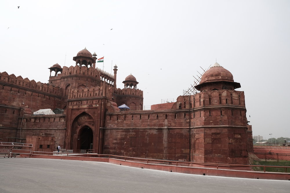 Entry into the Red Fort