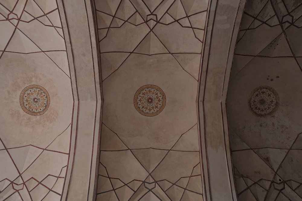 Ceiling of the bazaar, Red Fort