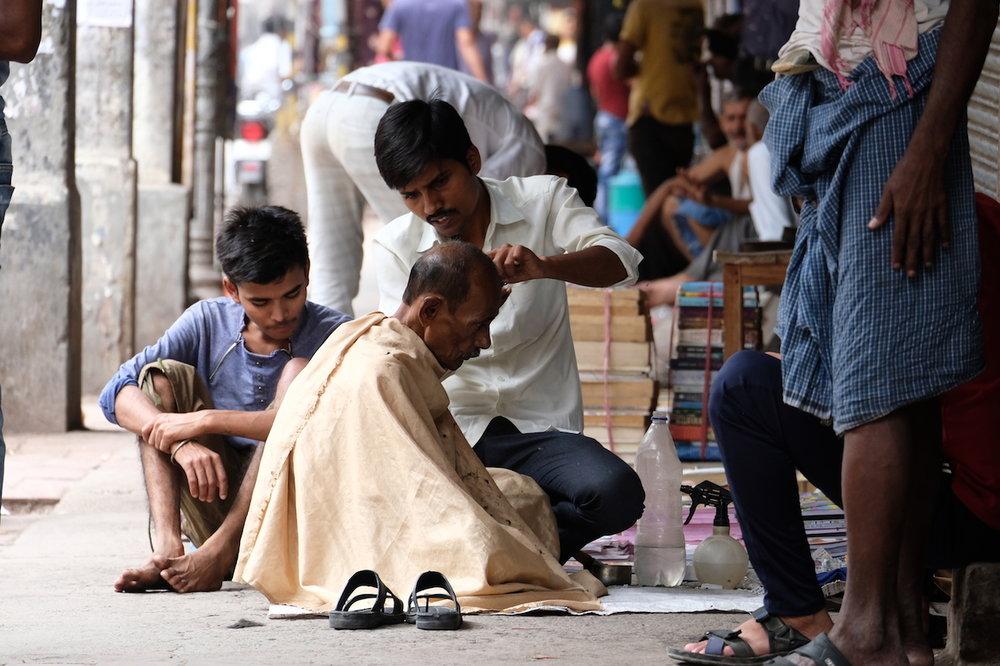Haircut, Old Delhi style