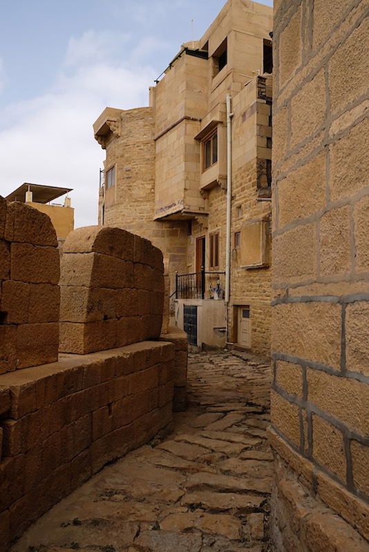 Fort walls, Jaisalmer