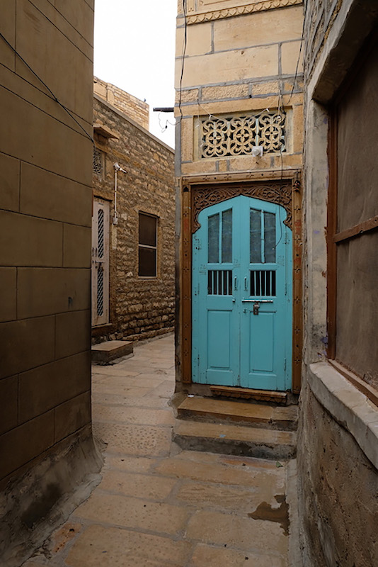 The Blue Door, Jaisalmer
