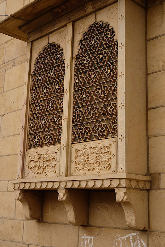 Window dressing, Jaisalmer