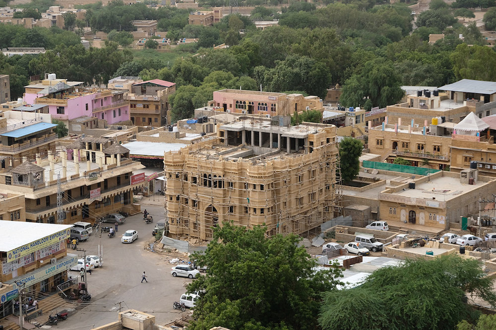 New Hotel being built, Jaisalmer