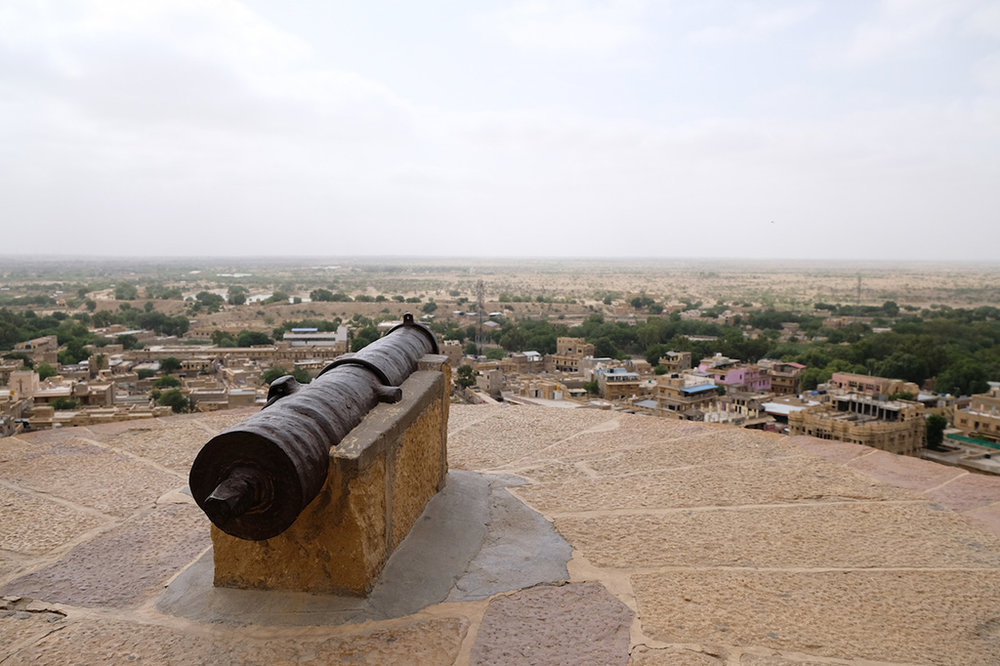 Fort Defences, Jaisalmer