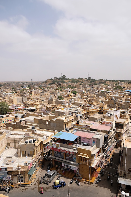The view, Jaisalmer