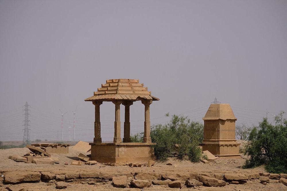 Cenotaphs, Thar Desert