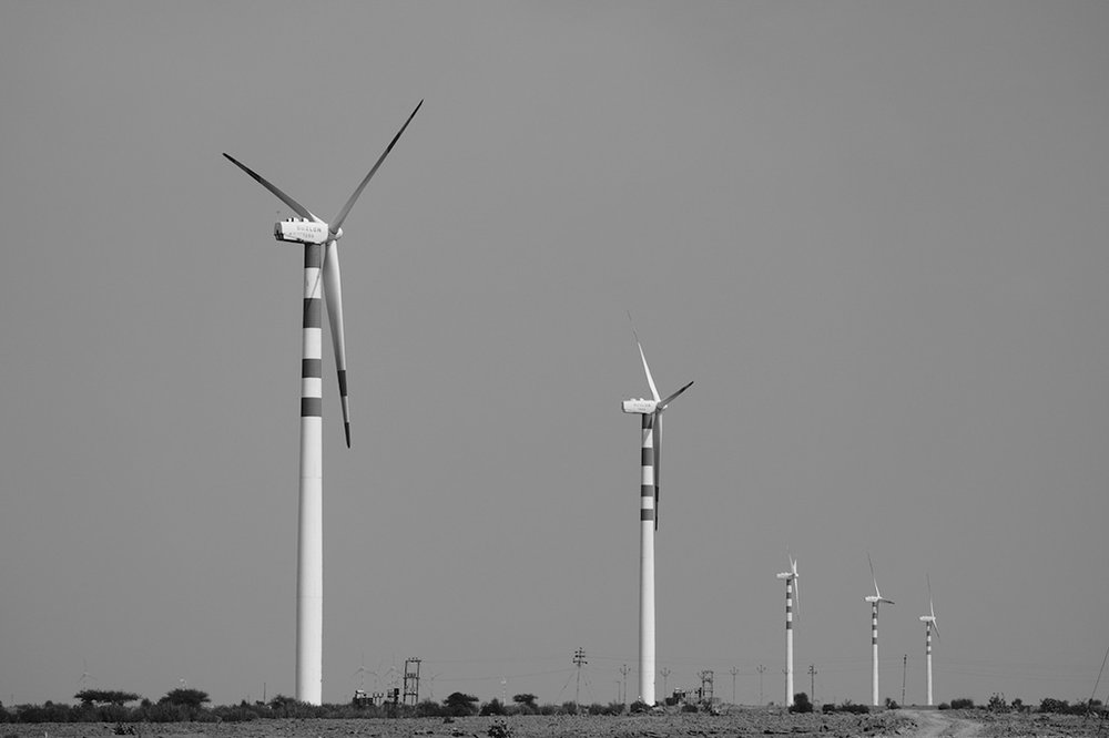 Wind Turbine family, Thar Desert