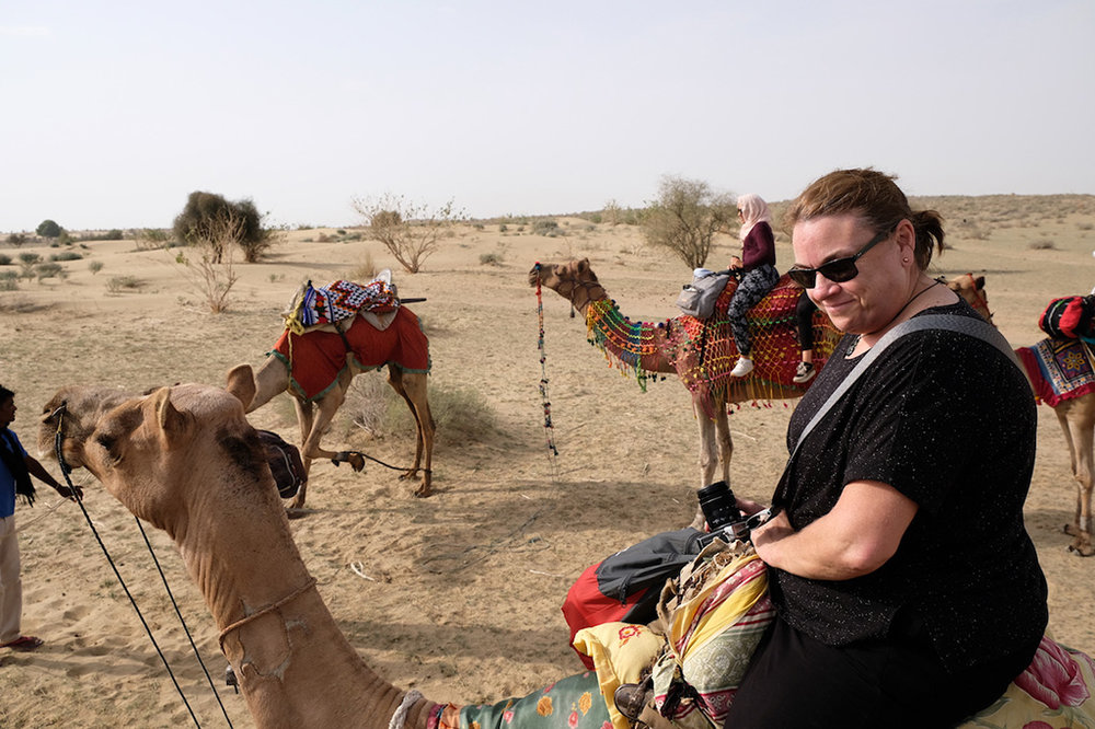 Liz the Camel jockey, Thar Desert