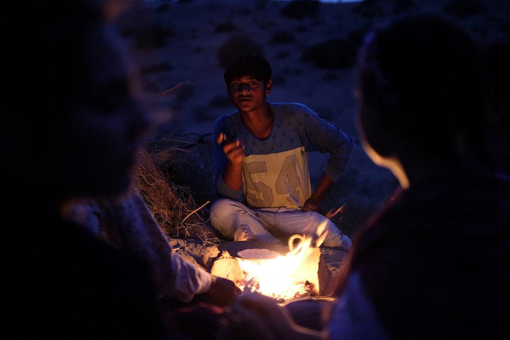 Fireside chat, Thar Desert