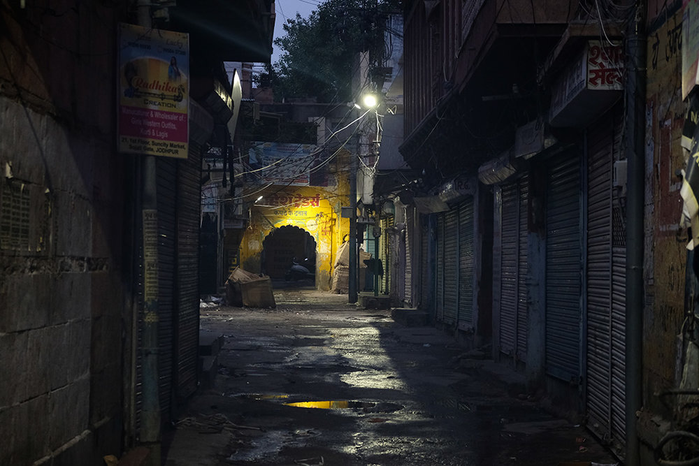 Early morning quiet streets, Jodhpur