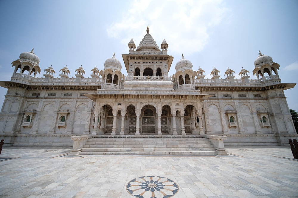 The back of Jaswant Thada